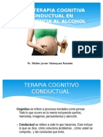 Terapia Cognitiva Conductual en Alcohol