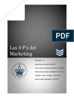 Las 4Ps Del Marketing