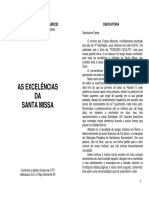 As Excelencias Da Santa Missa - Sao Leonardo de Porto-Mauricio O.F.M