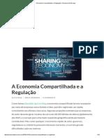 A Economia Compartilhada e a Regulação – Economia de Serviços.pdf