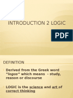 Introduction to Logic - General