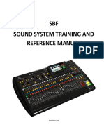 SBF Sound System Manual Revision 1