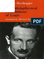 The Metaphysical Foundations of Logic - Martin Heidegger.pdf