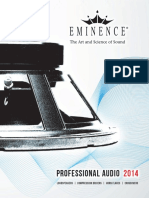 Eminence Catalog X