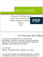 2.1 Plan de Calidad Del Software