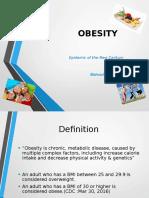 Presentation Obesity Stats