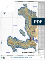 Haiti Hydroelectric Potential Map