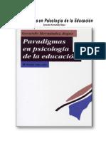 Paradigmas en Psicologia de La Educacion-JR