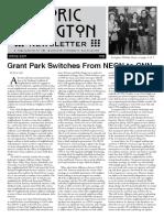 Historic Irvington Newsletter - 2017 Spring