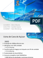 Analise Da Usina de Cana de Áçucar _Slide