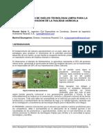Propuesta Resansil Vialidad Agricola