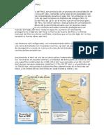 Historia Territorial Del Perú