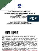 prosedur dan pengajuan PAK Pengawas Sekolah.ppt