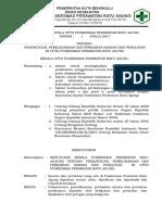 SK Pemantauan, Pemeliharaan, Perbaikan Sarana Dan Peralatan