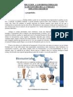 Guia de Estudio de La Materia de Intro a Los Biomateriales Unidad i
