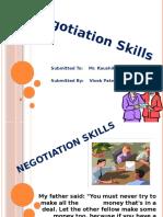 71770452 Negotiation Skills