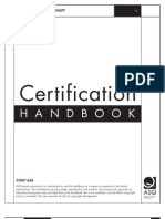 ASQ Certification Handbook VG