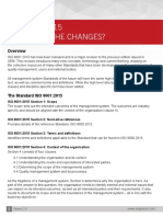 ISO 9001 What Are the Changes_Arun Sinha