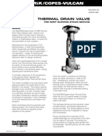 Thermal Drain Valves