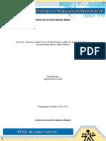 Análisis Del Caso de La Empresa Manjali.
