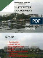 waste water management