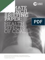 climate council coal