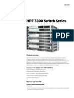 HPE 3800 Switch Series