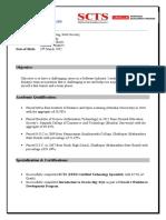 Dharam Resume