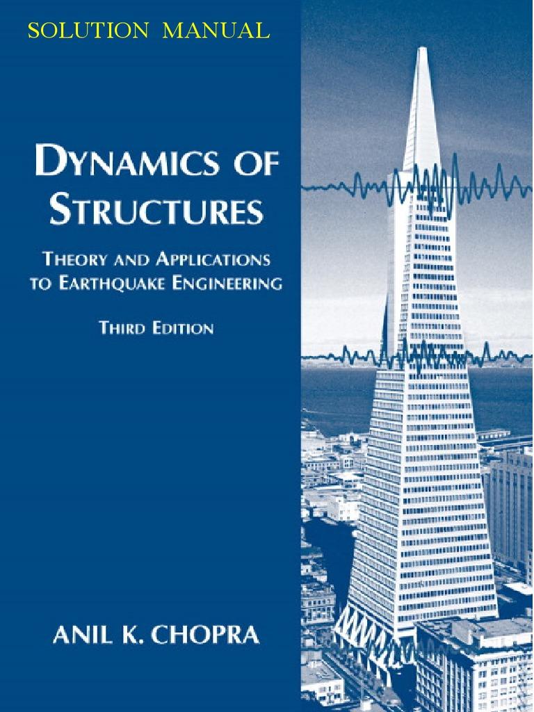 239676712 a k chopra solution manual pdf rh scribd com dynamics of structures chopra 4th edition solutions manual dynamics of structures 3rd edition chopra solutions manual