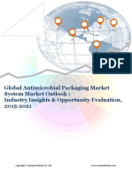 Global Antimicrobial Packaging Market (2015-2021)- Research Nester