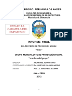 Informe Final Proyeccion Social
