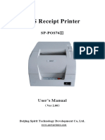 SP-POS76III User's Manual(Ver 2.00)