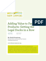 Adding Value to Farm Products Manual