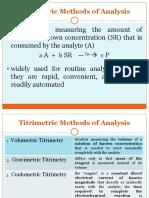 6-Titrimetric Methods of Analysis