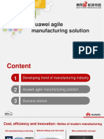 【HCC2013 Forum】Enterprise Forum - Huawei Agile Manufacturing Solution