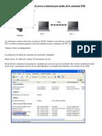 Como compartir el acceso a internet por medio de la conexión Wifi.doc
