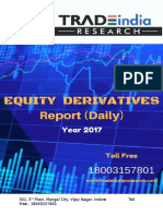 Derivative Prediction Report for 17 Apr 2017 by TradeIndia Research