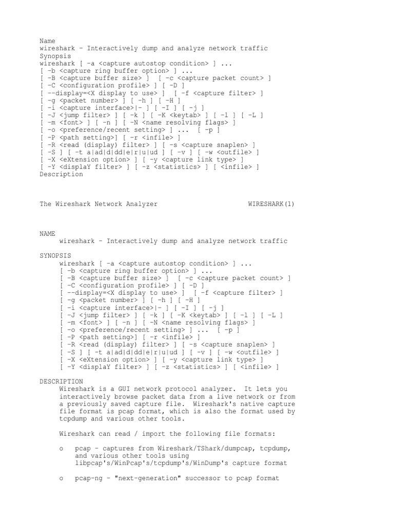 Wireshark Dump and Traffic Analysis   I Pv6   Network Packet