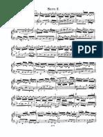 Bach Suite Anglaise 2 Prélude