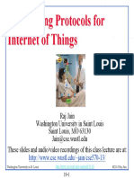 Networking Protocol for IoT