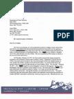 ACLU's Letter on Behalf of Kirsten Hunter Re
