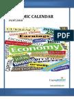 Weekly Economic Calender
