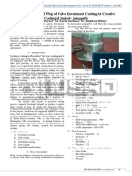 Failure Analysis of Plug of Valve Investment Casting at Creative Castings Limited- Junagadh