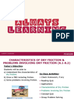 Chapter 8 Friction 8.1-8.2