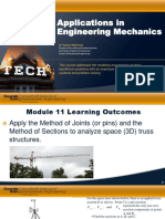63b4082a87137a6a12b82a9f733dd296 Module 11 Applications in Engineering Mechanics PPT