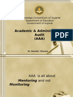 Academic and Administrative Audit (AAA) (1)