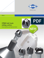 MAPAL CPMill Ball Track Milling Cutters En