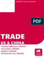 Argumentative Essay_Trade Relationships between China and the U.S.