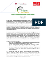 Agenda African Progress Definitiva
