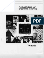 Fundamentals of Spectrum Analysis